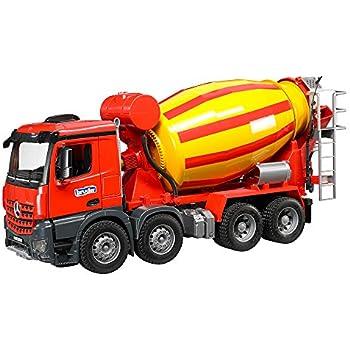 Amazon Com Bruder Man Cement Mixer Toys Amp Games