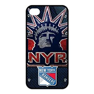 New Gift New York Rangers Durable Case for Iphone 4 4S Snap On