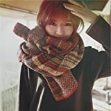 YX Color wool scarves warm scarf wild Ms. scarf