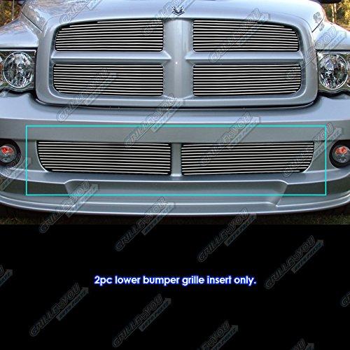 APS Fits 2004-2006 Dodge Ram SRT 10 Lower Bumper Billet Grille Insert #N19-A75156D 2006 Ram Srt 10