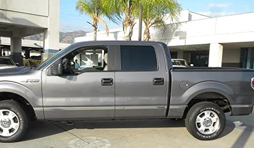 """For 09-14 F150 Crew Cab 5.5/' Bed W//O Flare Body Side Molding Trim 1 1//2/"""" 12PC"""