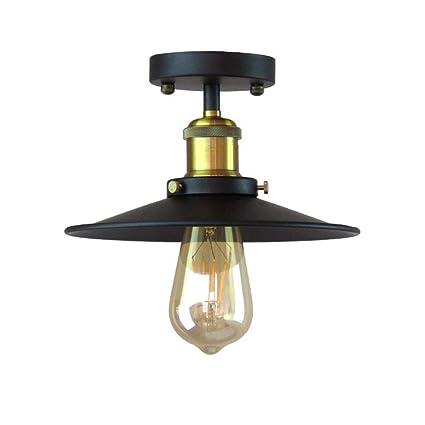 Vintage Ceiling Lights Fixtures Retro Kitchen Lamp Iron ...