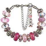 White Birch Charm Bracelet for Women and Girl...