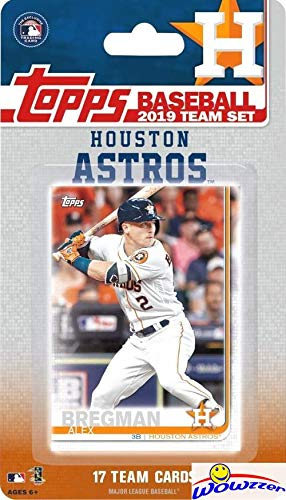 Houston Astros 2019 Topps Baseball EXCLUSIVE Special for sale  Delivered anywhere in USA