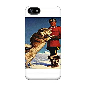 High-end Cases Covers Protector For Iphone 5/5s(mountie)