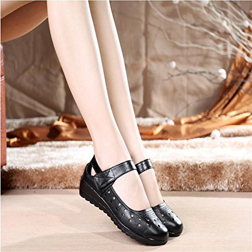 Hueco De Sandals Zapatos De Mujer Negro
