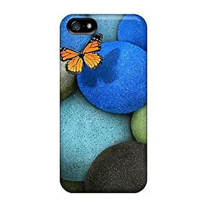 Durable Protector Case Cover With Lonely Butterfly Hot Design For Iphone 5/5s