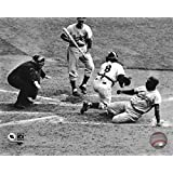 Jackie Robinson steals home during the 1955 World Series Sports Photo (10 x 8)