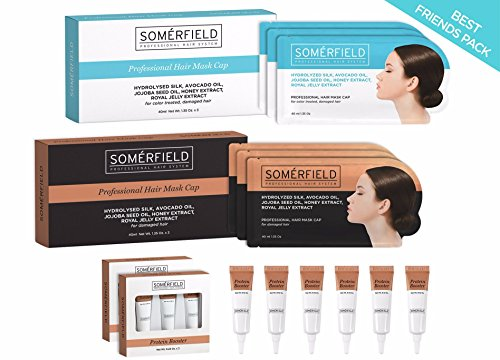 Somerfield Hair Mask Best Friends Bundle (1 x Natural + 1 x Intense) by SOMÉRFIELD (Image #1)
