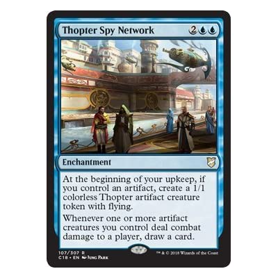 Magic: The Gathering - Thopter Spy Network - Commander 2020: Toys & Games