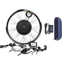 48V1200W Hub Motor 18AH Li-on Battery Powered Electric Bike Conversion Kit + LCD Theebikemotor
