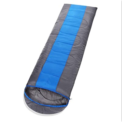 SHUIDAI Extérieur épaisseur sacs de couchage/déjeuner pause/élargissement , blue