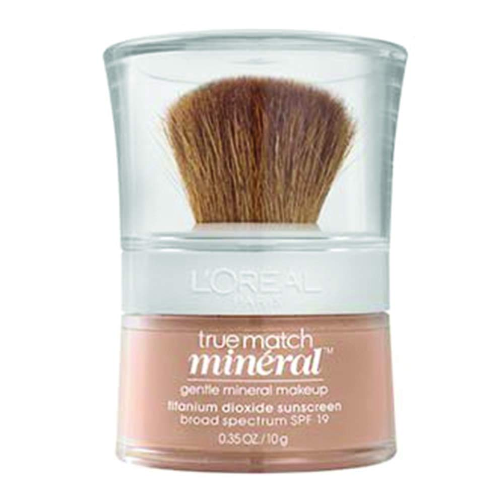 L'Oréal Paris True Match Loose Powder Mineral Foundation, Natural Buff, 0.35 oz.