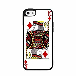 King Of Diamonds - Plastic Phone Case Back Cover iPhone 5c by icecream design