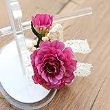 Hair Clip Women Girl Big Rose Flower Hairpins Hair Clips Wedding Party Hair Accessories Women Headwear 2