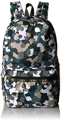 LeSportsac Women's Classic Essential Backpack, Camo Floral