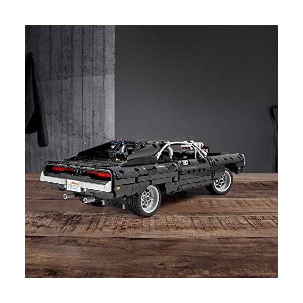 LEGO Technic Dom's Dodge Charger per Ricreare le Scene di Fast and Furious, Avventure ad Alta Velocità, Idea Regalo per… 3 spesavip