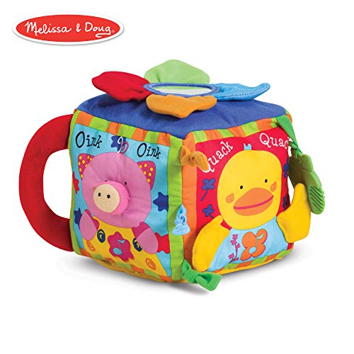 Melissa & Doug K's Kids Musical Farmyard Cube (Educational Baby Toy)
