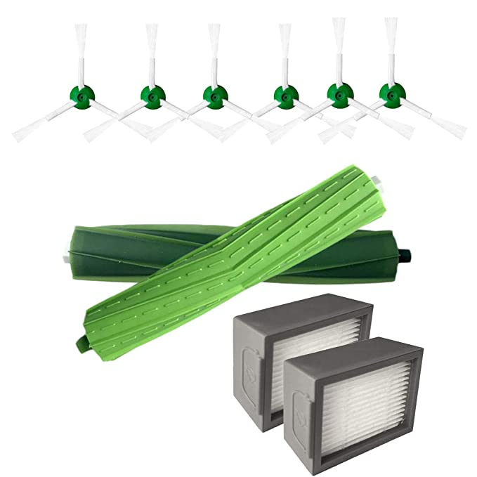 QinMM - Cepillo Lateral y filtros Hepa y Cepillo de cerdas ...