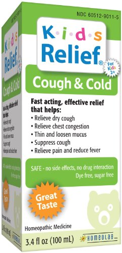Cold Syrup - 3.4 oz (Homeolab Kids Relief Remedies)