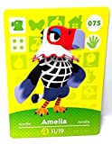 Amiibo Card Animal Crossing Happy Home Design Card AMELIA 075/100 by Nintendo