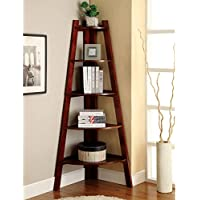 Modern Five-tier Corner Etagere Display Unit