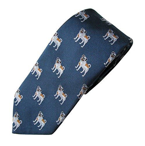 Pug Tie (Men's Dog Breed Neck - Pug Tie