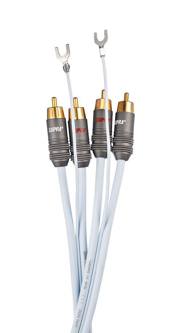 Supra Cables Phono 2RCA de CS Analógica Cable de Conexión, 2.00 m ...