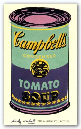 McGaw Graphics Campbell's Soup Can, 1965 (green and purple) by Andy Warhol 56
