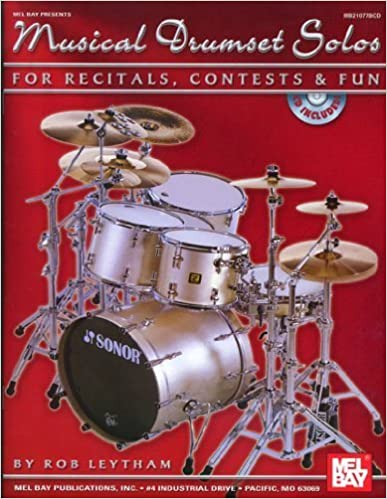 Book Mel Bay Musical Drumset Solos for Recitals, COntests and Fun by Rob Leytham (2005)