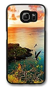 Darwin Bay Sunset Polycarbonate Hard Case Cover for Samsung S6/Samsung Galaxy S6 Black