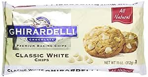 Ghirardelli Premium Baking Chips, Classic White Chocolate, 11 oz