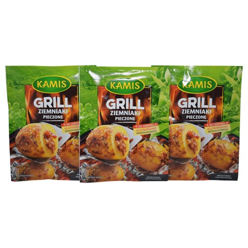 Kamis Grill Baked Potatoes 20g (Pack of 3)