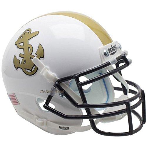 Navy Midshipmen White Officially Licensed Full Size XP Replica Football Helmet