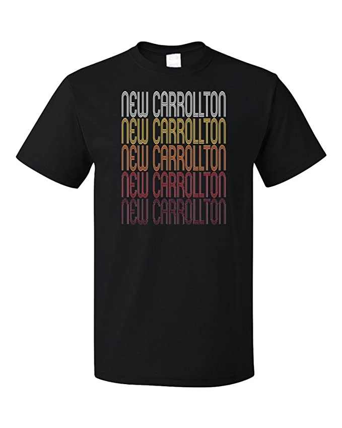 Amazon.com: New Carrollton, MD | Retro, Vintage Style Maryland Pride T-shirt: Clothing