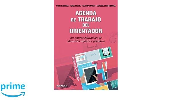 Amazon.com: Agenda de trabajo del Orientador: En centros ...