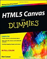HTML5 Canvas For Dummies Front Cover