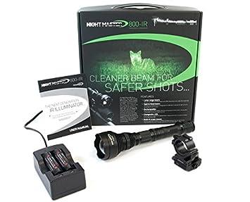 Noche Master 800 IC del Hombre 850 NM IR iluminador con rápido Control de Brillo LED
