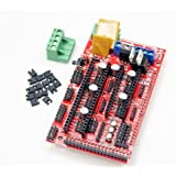 Amazon.com: Hobbypower 3D Printer Controller RAMPS 1.4 for ...