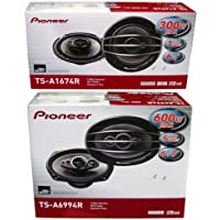 PIONEER TS-A1674R 6.5 + TS-A6994R 6x9 Speakers Package