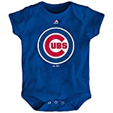 Chicago Cubs Majestic Blue Baby Bodysuit (0-3M)