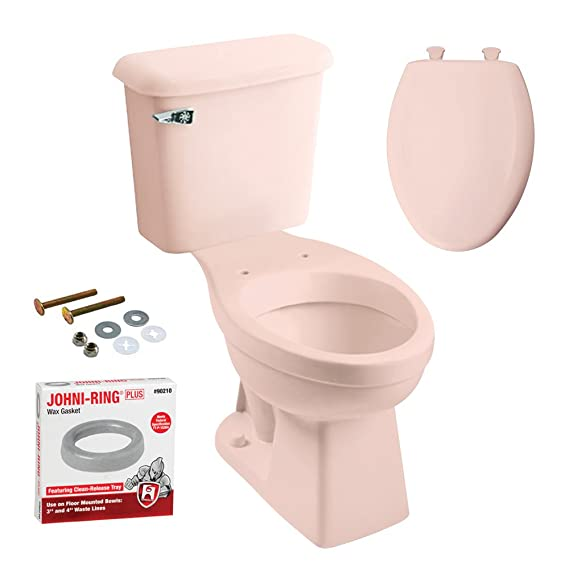 Peerless Pottery K-7668-18 McKinley Elongated Toilet with Seat ...