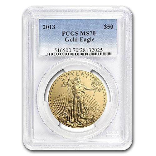 2013 1 oz Gold American Eagle MS-70 PCGS 1 OZ MS-70 PCGS