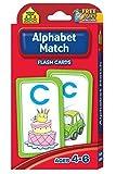 Books : Alphabet Match Flash Cards by School Zone Publishing Company Staff (2005-01-01)