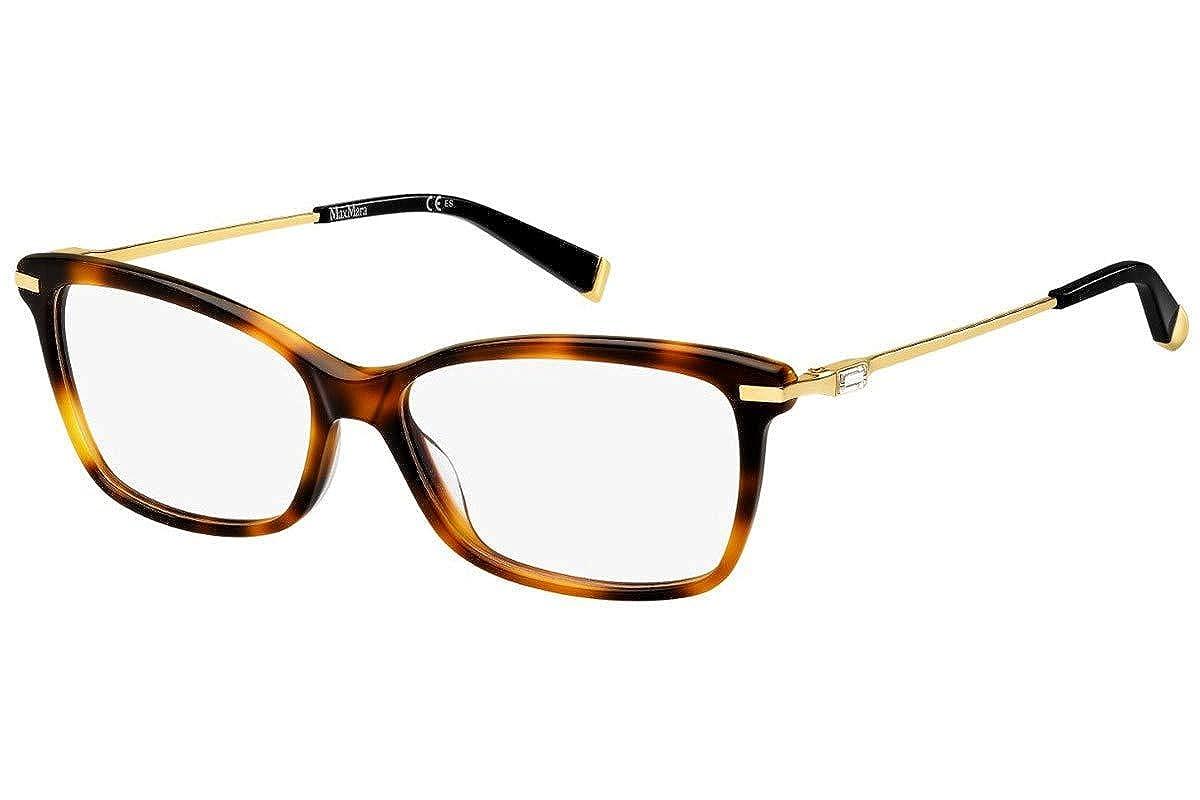 Max Mara Max Mara 1270 0BHZ Havana Rose Gold Eyeglasses