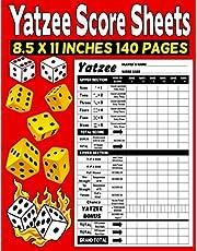Yatzee Score Sheets: Yatzee Score Pads - Classic Large Print Yatzee Score Pads Vol 2