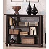 Baxton Studio Havana Short Wood Modern Bookcase, Brown