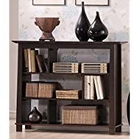 Baxton Studio Havana Short Wood Modern Bookcase, Brown