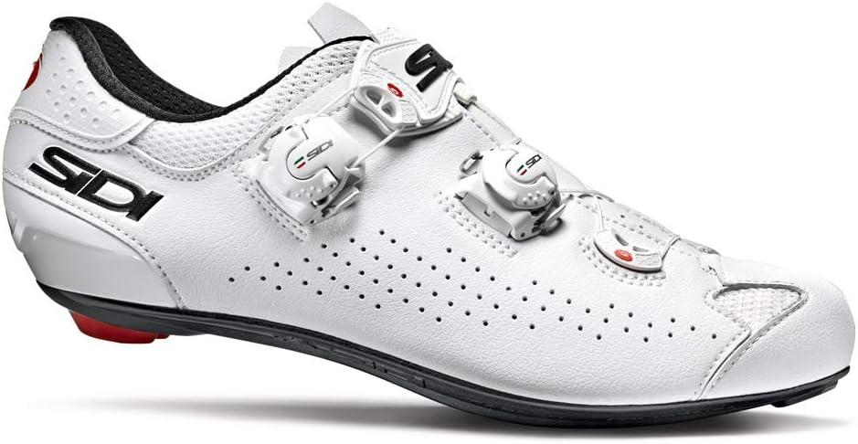 SIDI Genius 10 - Zapatillas de Ciclismo para Hombre, Color Blanco ...