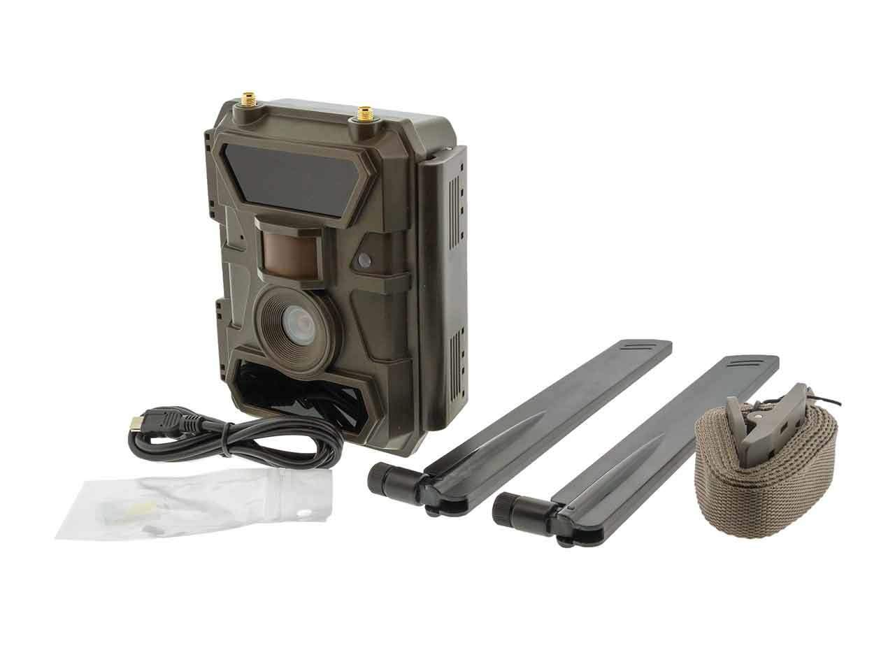 Remote Scout Cellular 4G Outdoor Camera - 4G Trail Camera - Security Camera - No Local Internet Required! by Brickhouse Security